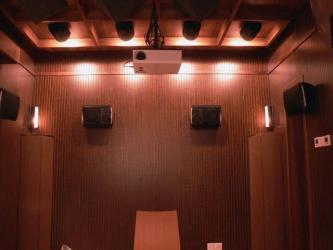 槽木吸音板木质纹理-孔木吸音板-吸音装饰