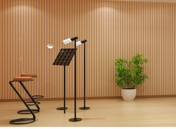 木质吸音板坚实耐用-孔木吸音板墙面天花装饰