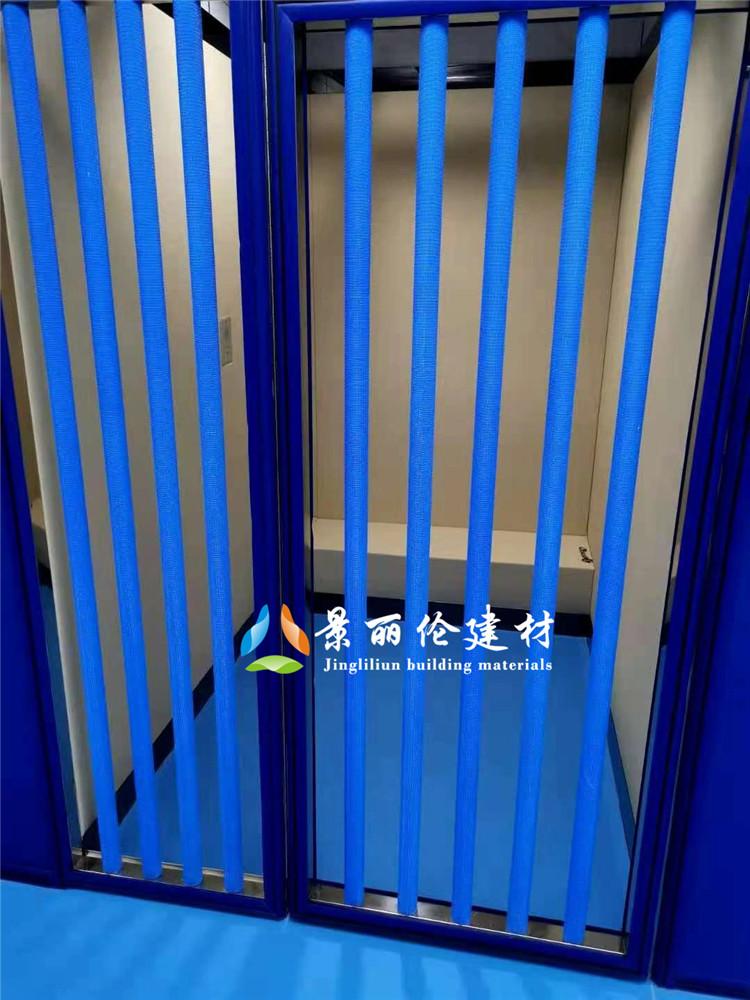 法院羁押室软包门 羁押室软包栏栅门厂家