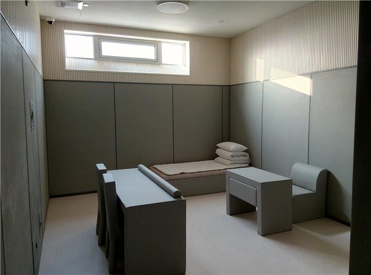 纪检委-监察委-公安局-拘留所软包洗手台布置