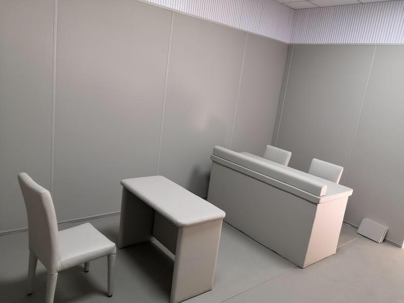 广东纪委谈话室软包桌椅厂家 谈话室软包厂家