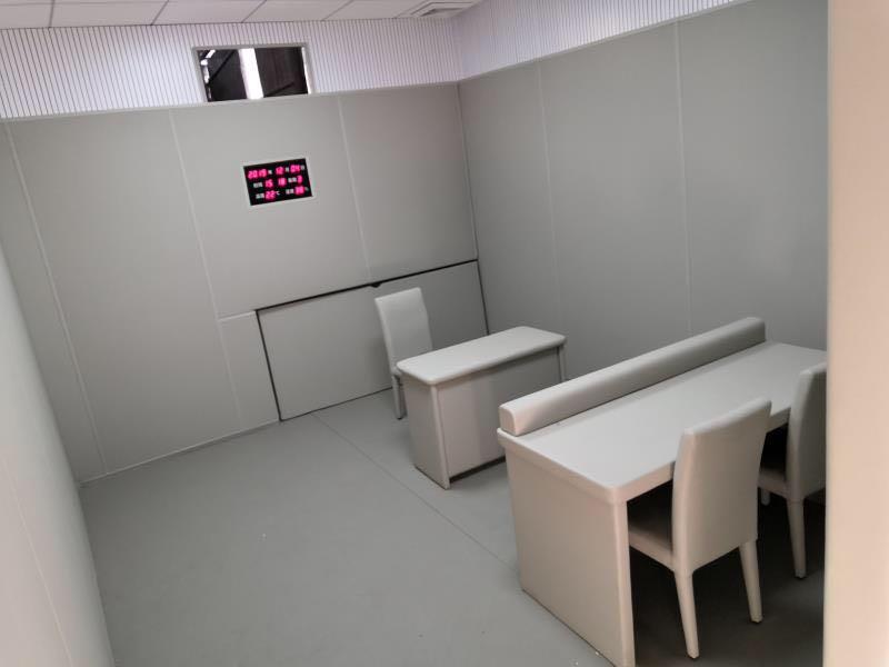 纪委谈话室桌椅规格 谈话室软包桌椅价格