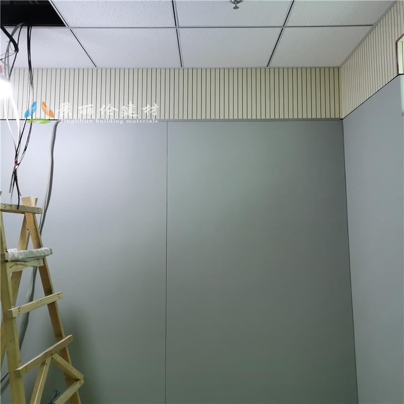 新疆公安局防撞墙软包安装细节