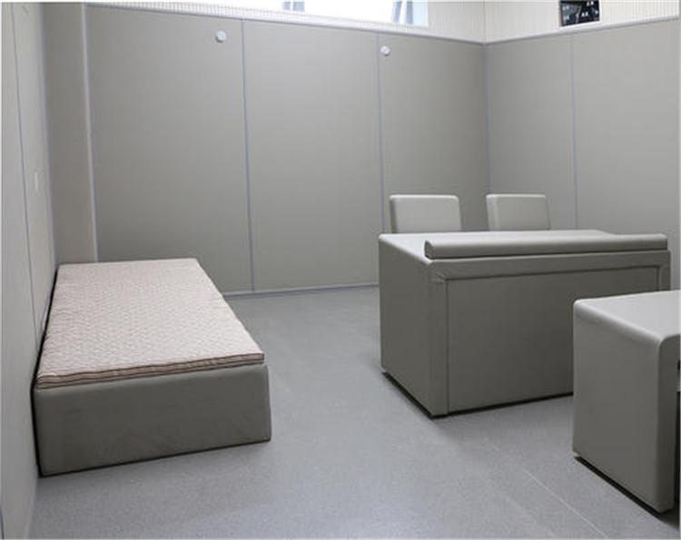 法院办案区防撞软包 广东留置室墙面软包