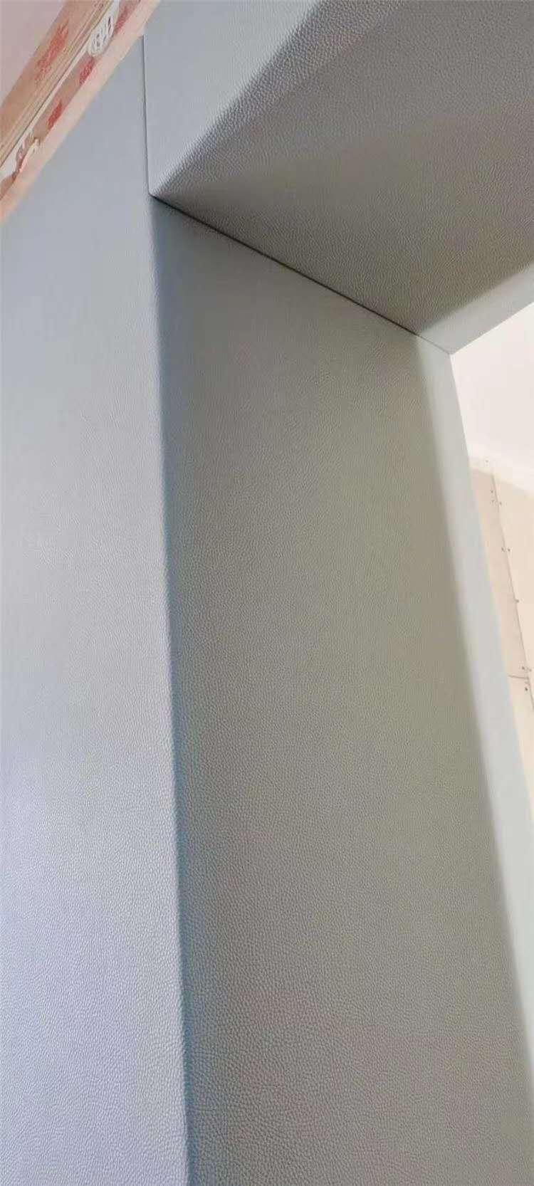 墙面防撞软包 阻燃皮革软包 广东软包定制