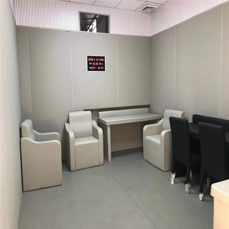 郑州谈话室防撞桌椅 软包家具
