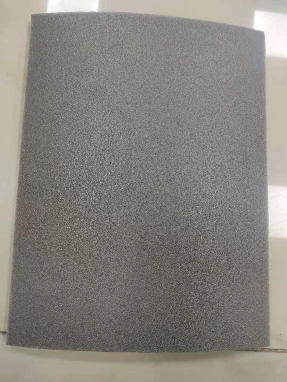 留置室地板胶防撞地垫灰色10毫米