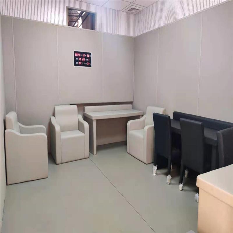 法院防撞桌椅软包桌椅纳米棉包覆