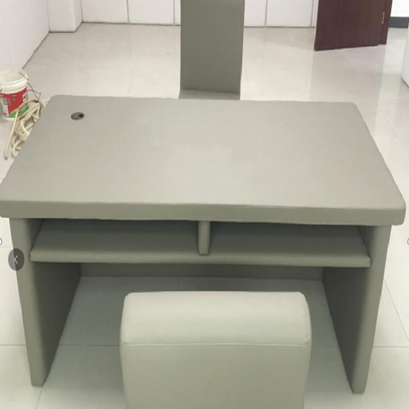 检察院防撞桌椅皮革+聚乙稀棉