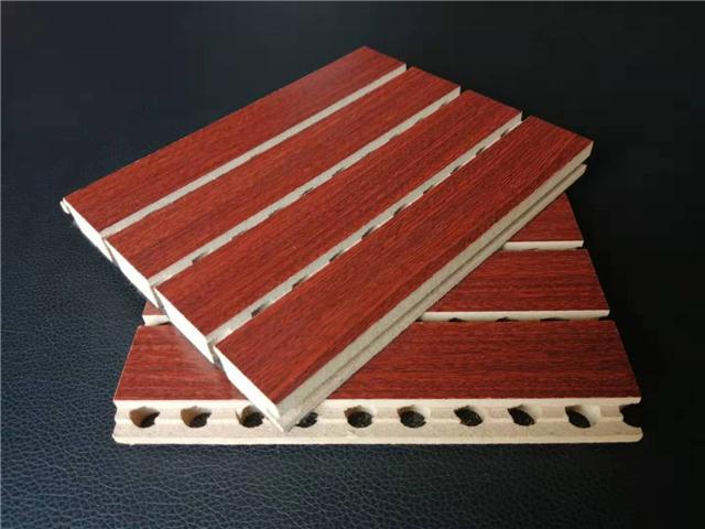 玻镁吸间板 开槽吸音板 录音棚吸音板 会议室阻燃吸音板