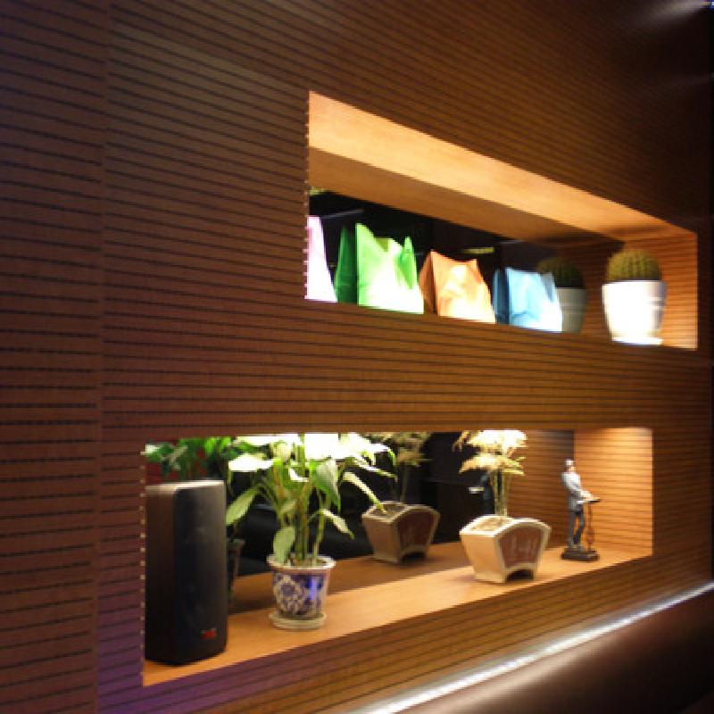 会议室孔木吸音板安装方法