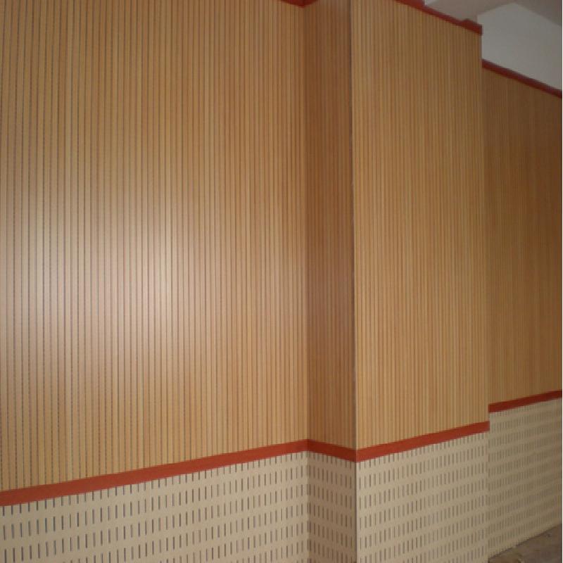 钢琴房玻镁吸音板装潢材料生产