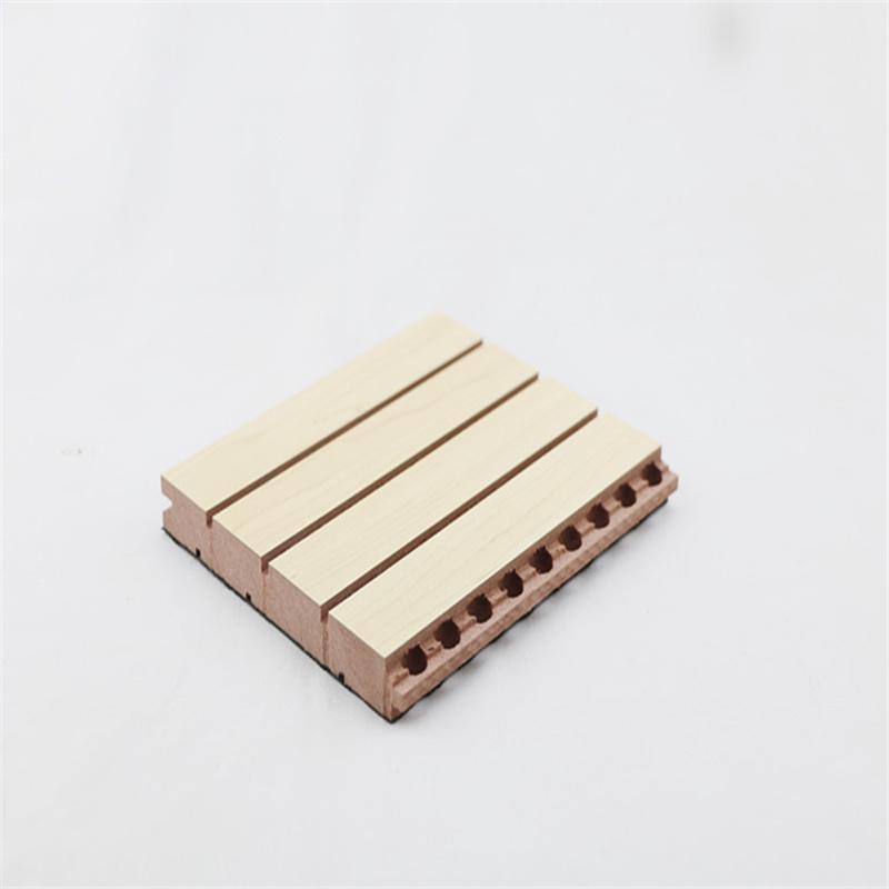 展馆槽木吸音板吸音效果尤佳