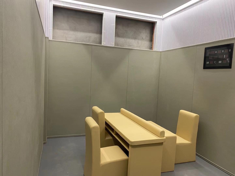 辽源办案区防撞软包 羁押室墙面软包 纪委谈话室软包