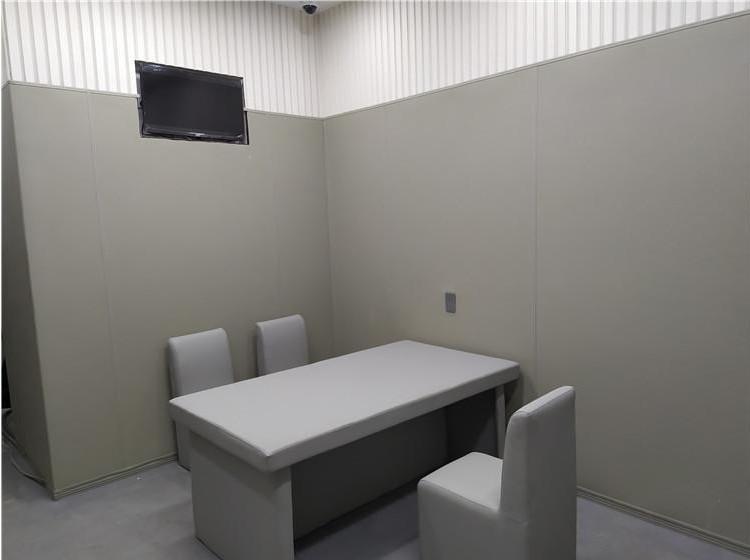 铜川留置室软包 纪委谈话室墙面软包厂