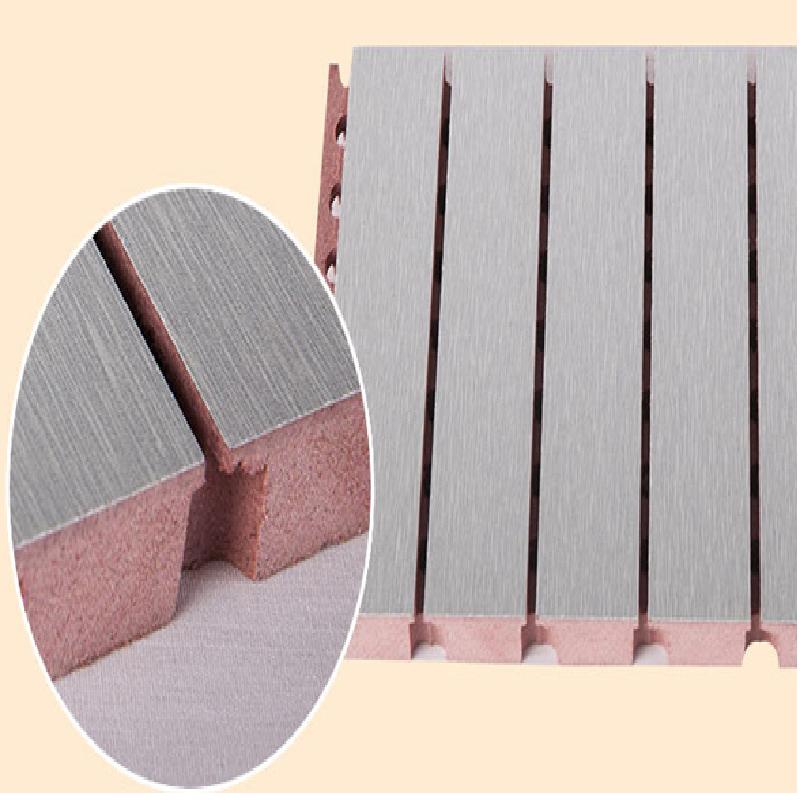 吸音工程案例吸音板阻燃环保基材
