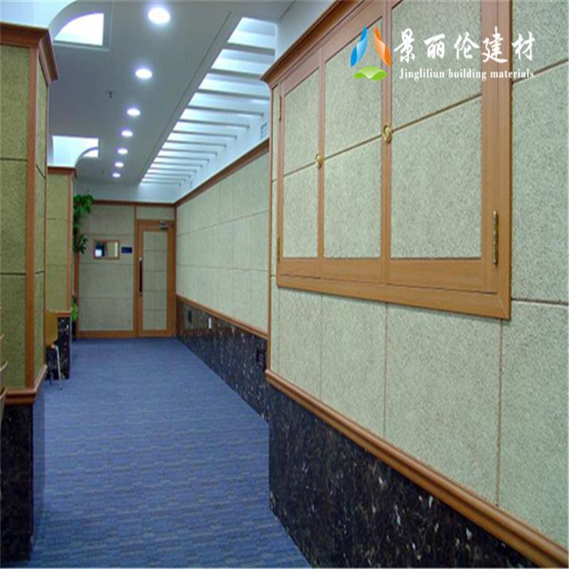 木丝吸音板装饰效果美观实用