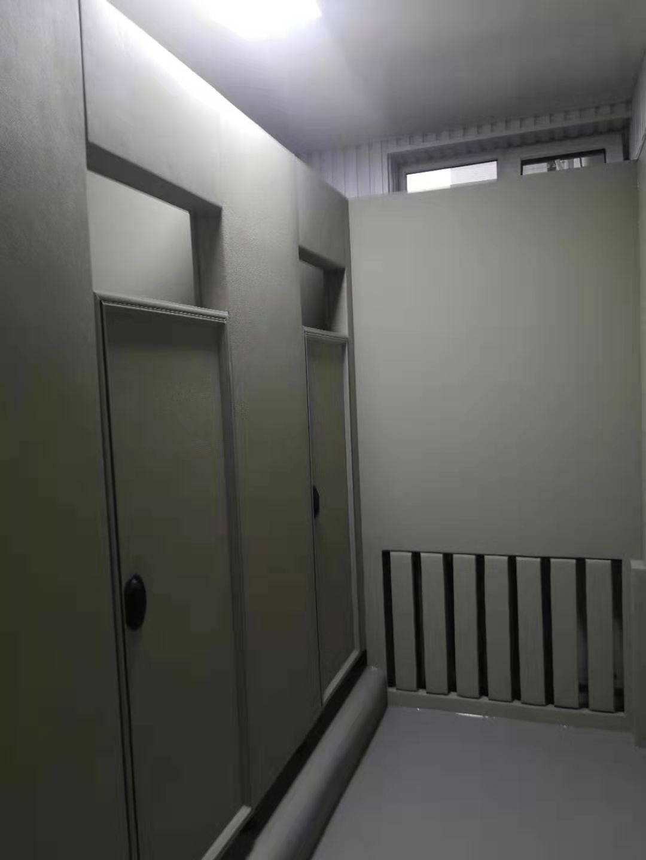 皮革羁押室防撞软包  讯问室皮革软包防撞桌椅