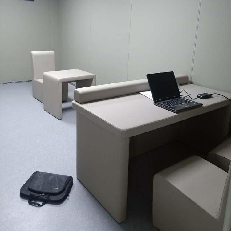 吉安办案区防撞软包 羁押室墙面软包 广东软包厂家