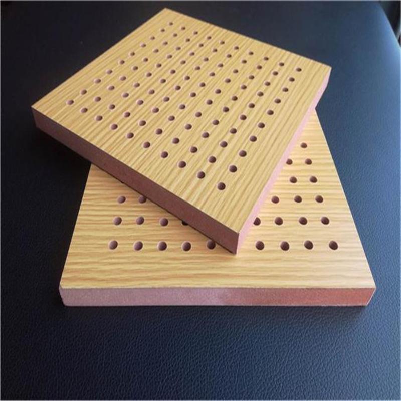 办公楼吸音装饰 录音棚孔木吸音板安装方法