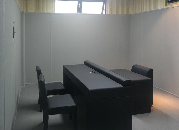 抚顺羁押室墙面软包 审讯室软包装修规格定做