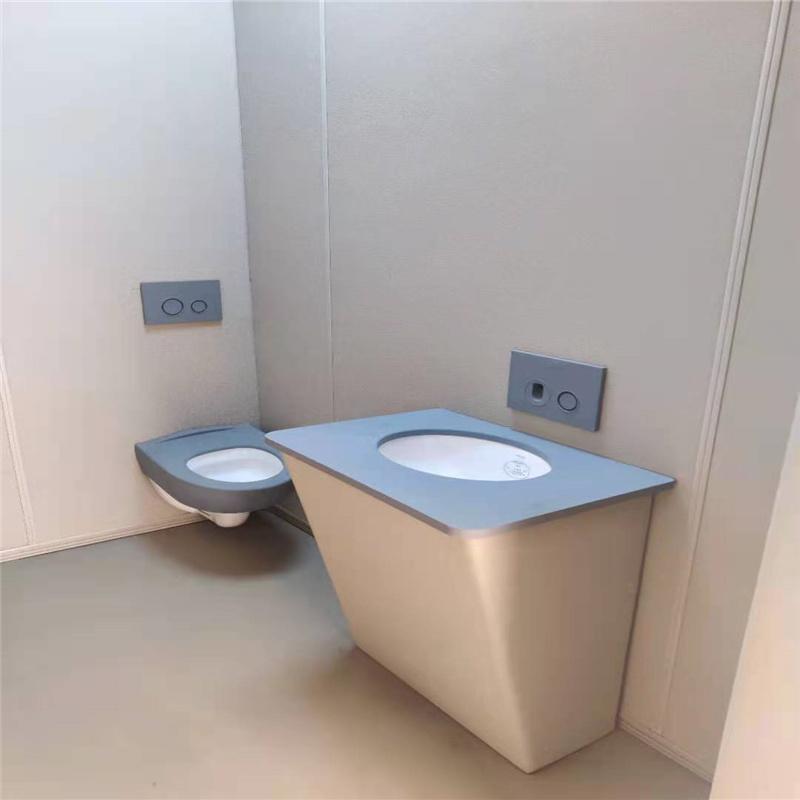留置室防撞辅料谈话桌椅洗手台马桶