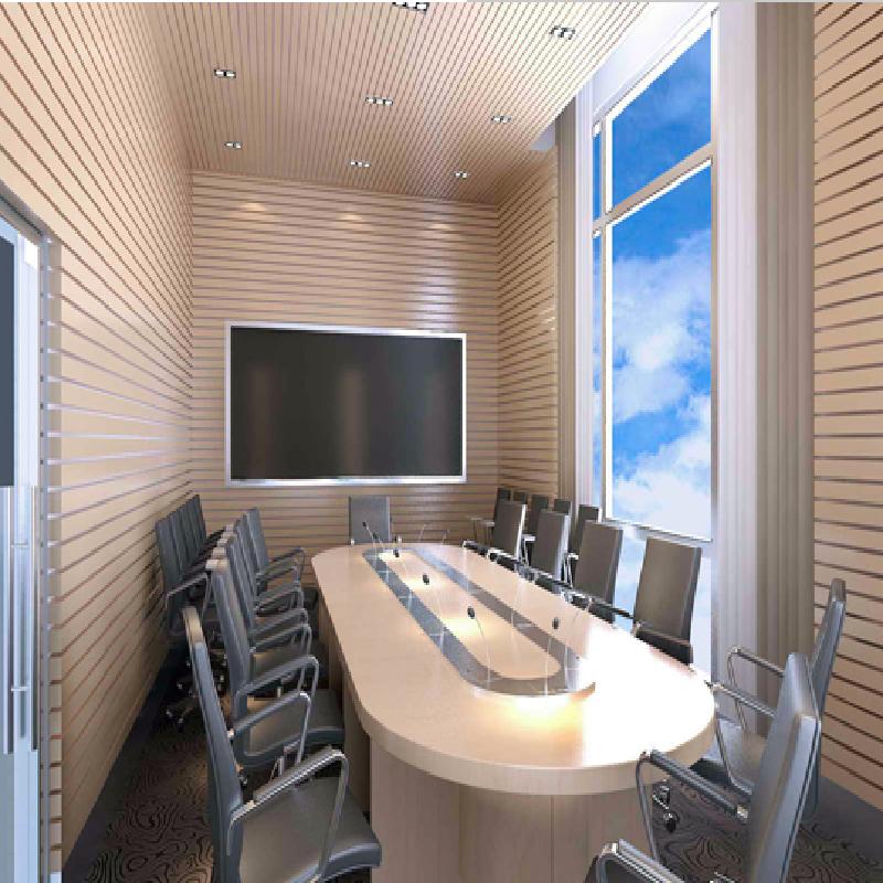 办公区吸音装饰工程 扩散体安装