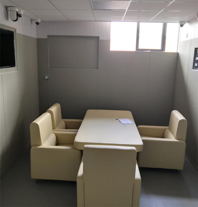 检察院办案区软包桌椅-防撞桌椅