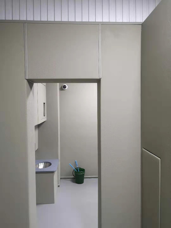 内蒙古纪委防火防撞软包 谈话室留置室软包 定做防撞材料