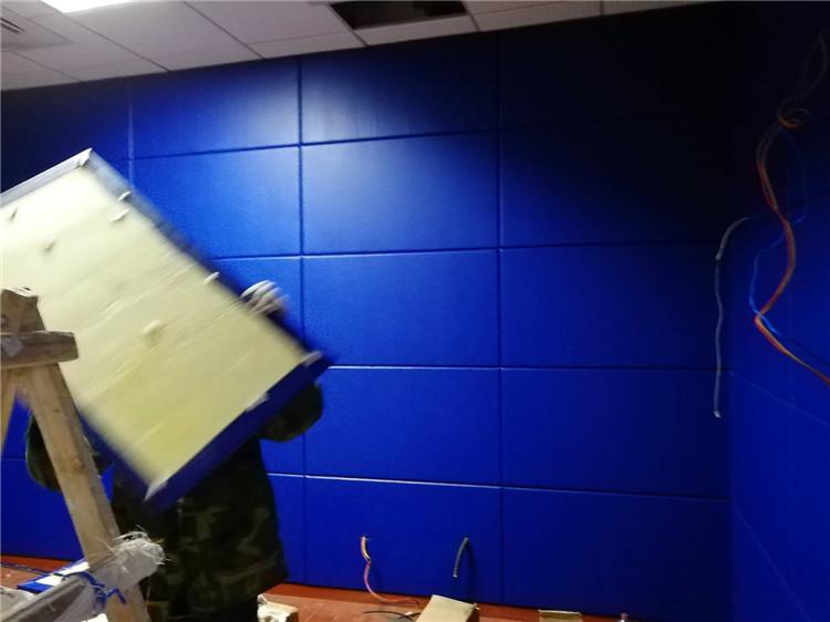 公安辨认室墙面软包 防撞阻燃