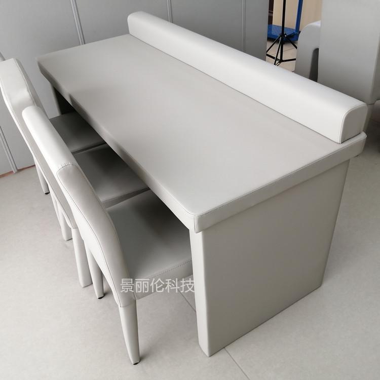 昆明 纪委谈话说桌椅 谈话室软包桌椅定制