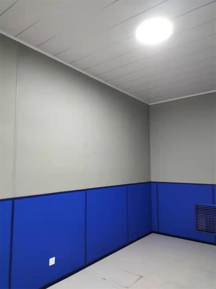 公安谈话室防撞墙板阻燃B1级、环保E1级