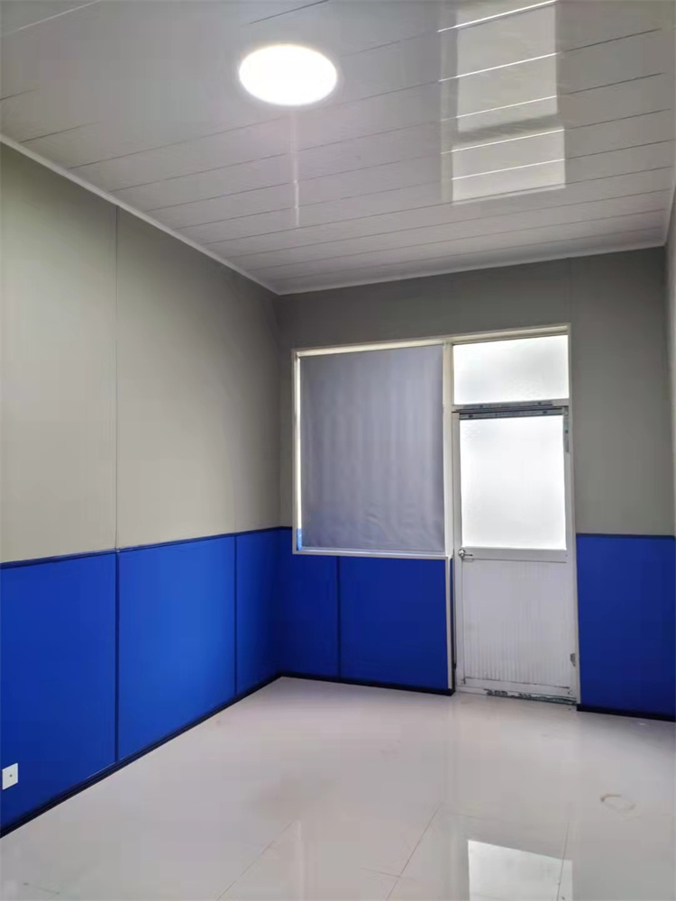 公安纪委防撞墙板清洁干净无尘无渍