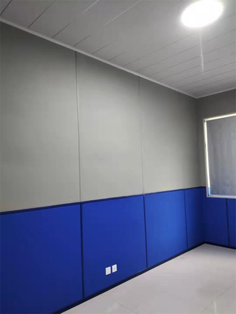 办案区留置室墙面软包声学装饰材料
