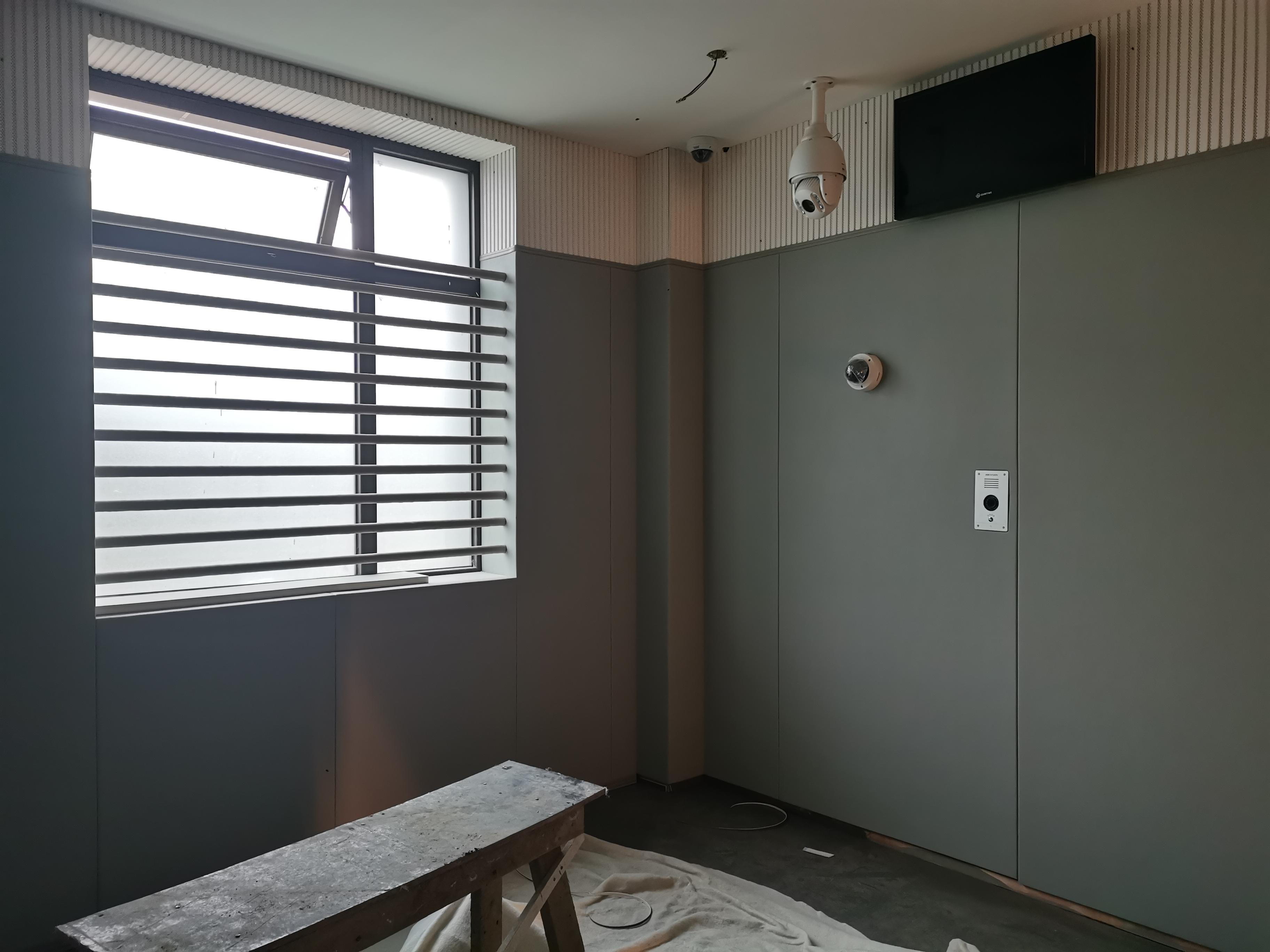 安徽询问室防撞软包 B1级防撞墙定做 留置室墙面软包